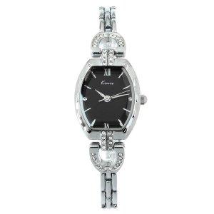 KIMIO KW560S-S01 Cuarzo Relojes de Pulsera Negro y plata