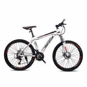 Bicicleta de montaña Rin 26 MINGDI MD-860 Marco en aleación de aluminio 21 Velocidades con Tenedor de suspensión