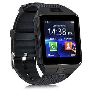 Reloj Inteligente Smartwatch DZ09 Negro