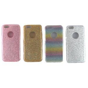Estuche genérico para Iphone 6 Rosado/Blanco/Dorado/Multicolor