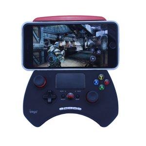 Ipega PG-9028 Palanca para juegos inalámbrica para Android y Windows -Negro + Rojo