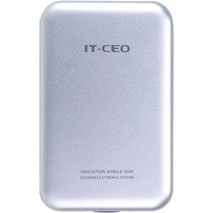 Caja para disco duro IT-CEO IT-700S 2.5 pulgadas USB2.0 Plata