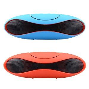 Parlante portátil inalámbrico Bluetooth llamadas de altavoz