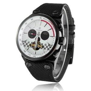Relojes Mecánicos SPEATAK SP90050G para hombres Negro y Blanco