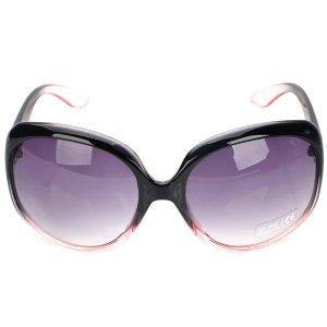 Gafas del sol de líneas redondas