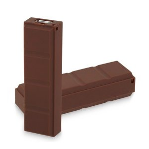 BATERIA EXTERNA POWER BANK 2600(1800) CHOCOLATE